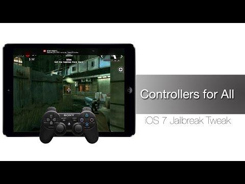 Controllers For All - IOS 7 Jailbreak Tweak: Hands-on - IPhone Hacks