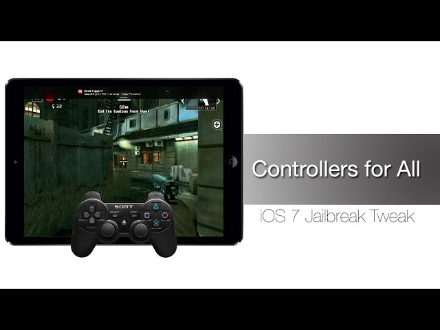 How to Play iPhone, iPad games using PS3 DualShock Controller