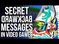 Secret Backward Messages In Video Games! - Easter Egg Hunter