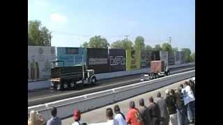 Peterbilt 379 Vs. Peterbilt 359 Dump Truck At Irwindale