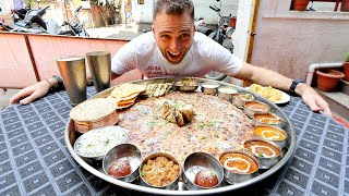 The Biggest Thali In Pune   Bahubali Thali 20   Items! | Pune, India