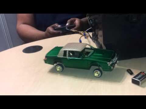 Hydraulic model car