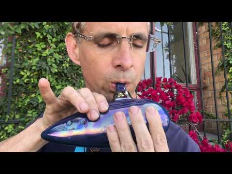 Introducing The Ocarina of Time (Tenor F) StratoBlue from the Legend of Zelda [SONGBIRD OCARINA]