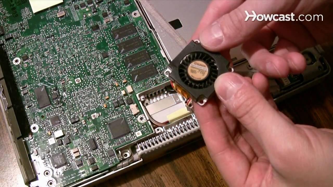 how to fix a laptop fan [ 1280 x 720 Pixel ]