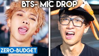 K-POP WITH ZERO BUDGET! (BTS- 'MIC DROP')