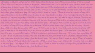 Kris Allen-Live Like we're dying Lyrics on screen and download