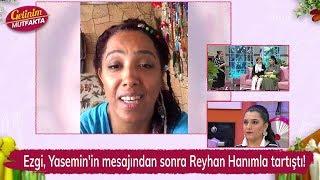 Ezgi, Yasemin'in mesajından sonra Reyhan Hanımla tartıştı! Gelinim Mutfakta 153. Bölüm