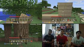 Minecraft xbox 360 Edition : Desafio [ 3 Players]