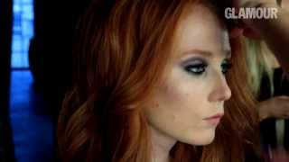 видео Макияж для карих глаз рыжих