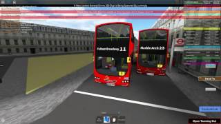 ROBLOX - France GoAhead London Route 11 - France CRASHED INTO A POLE!