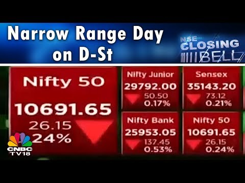 Closing Bell (9th May) | Narrow Range Day on D-St; Consumption Stocks Stand Out