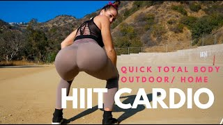 TOTAL BODY HIIT CARDIO  ( home or outdoor) with NELLIELYNNFIT