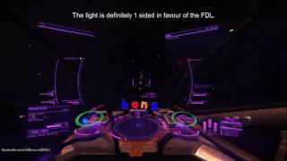 Viper Vs Elite FDL - PvP - Elite Dangerous 2.1