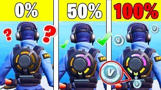 WHAT PASSES at 100% with the NEW RUCKSACK in Fortnite ?