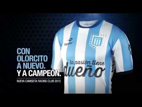Con Olorcito a Campeón - Nueva Camiseta Oficial Racing 2015 -  HD