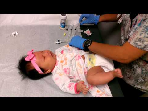 Baby janelle getting 7 shots.