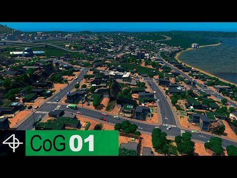 GREENIFYING a Polluted City | Cities: Skylines – City of Gardens SCENARIO, Part 1