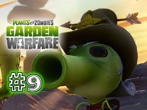 Plants Vs. Zombies - GARDEN WARFARE - PART 9 - Law Pea (HD GAMEPLAY)