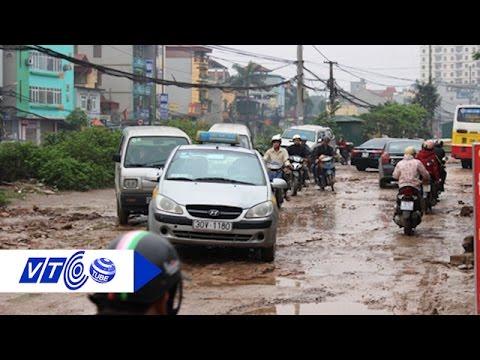 Con đường 'đau khổ' giữa thủ đô | VTC