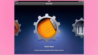 GarageBand iPad tutorial in italiano