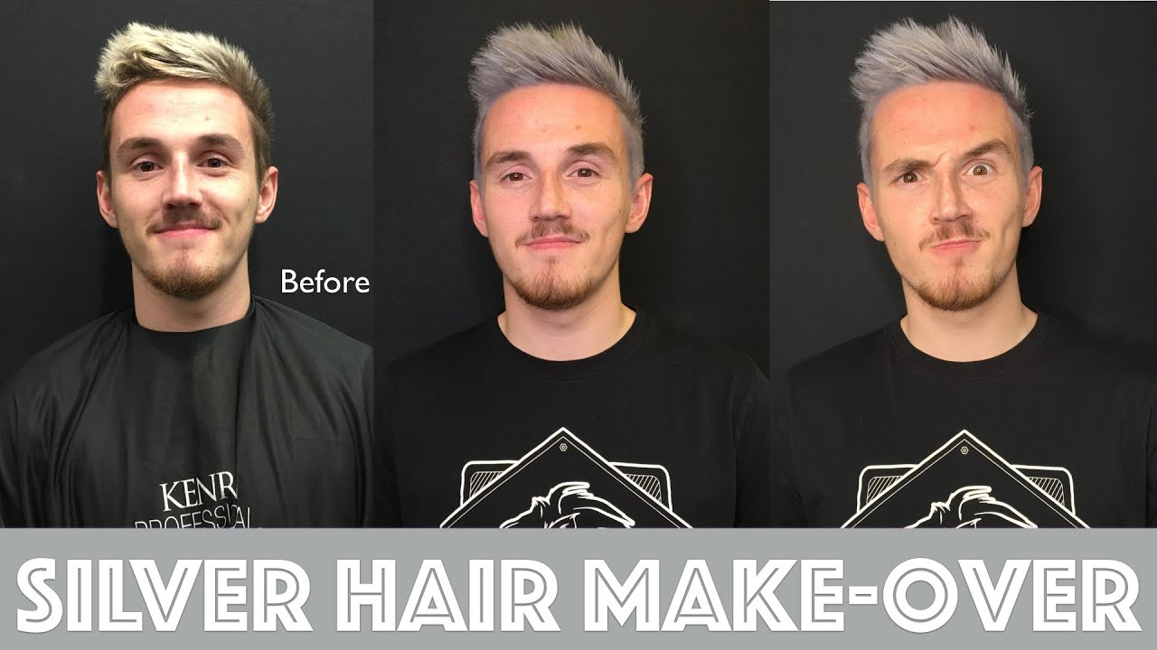 Silver Hair Make Over Youtube