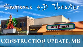 THE SIMPSONS Are Coming To Myrtle Beach! 4D Motion Theater    Construction Update