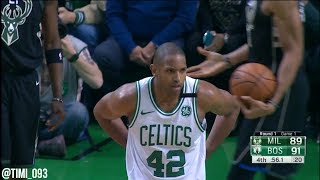 Al Horford R1G1 Highlights vs Milwaukee Bucks (24 pts, 12 reb, 4 ast, 3 blk)