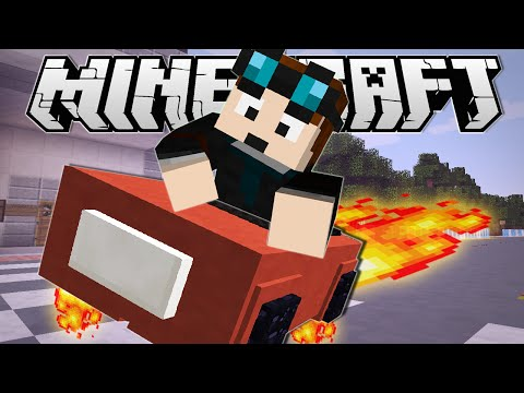 Minecraft diamond minecart infinite rollercoaster - Diamond minecart theme song ...