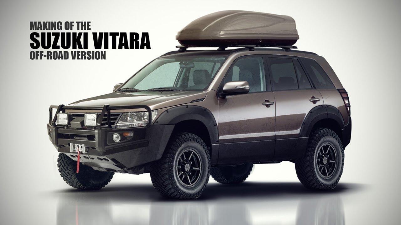 Suzuki Grand Vitara Off Road Modifications