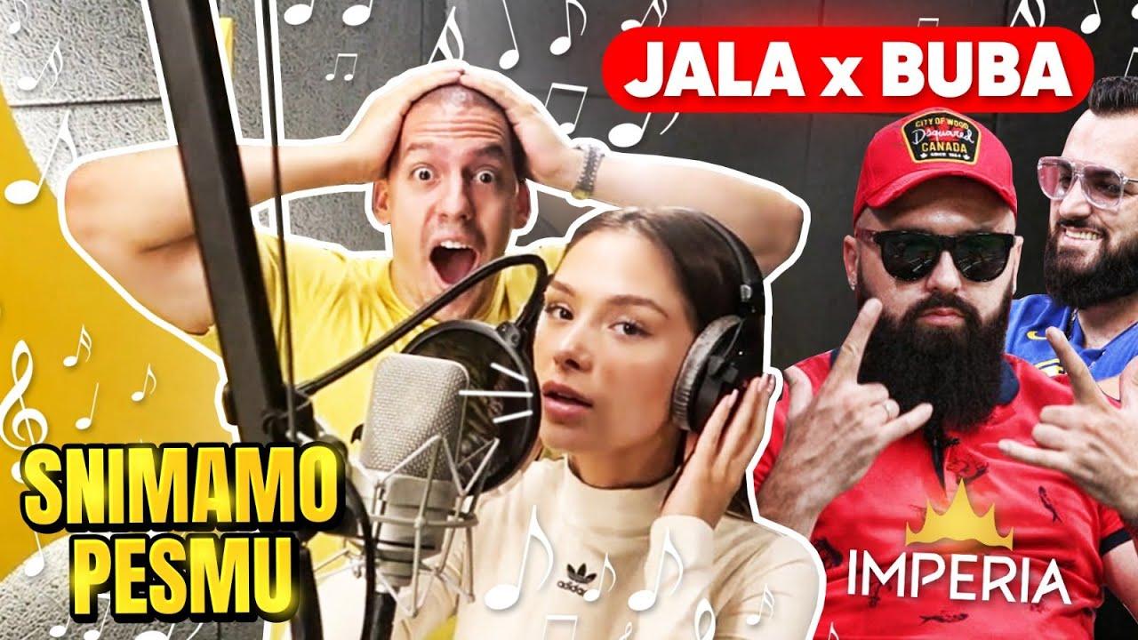 Download DEVOJKA I JA SNIMAMO PESMU SA JALOM I BUBOM - BakaPrase x AnjaBla