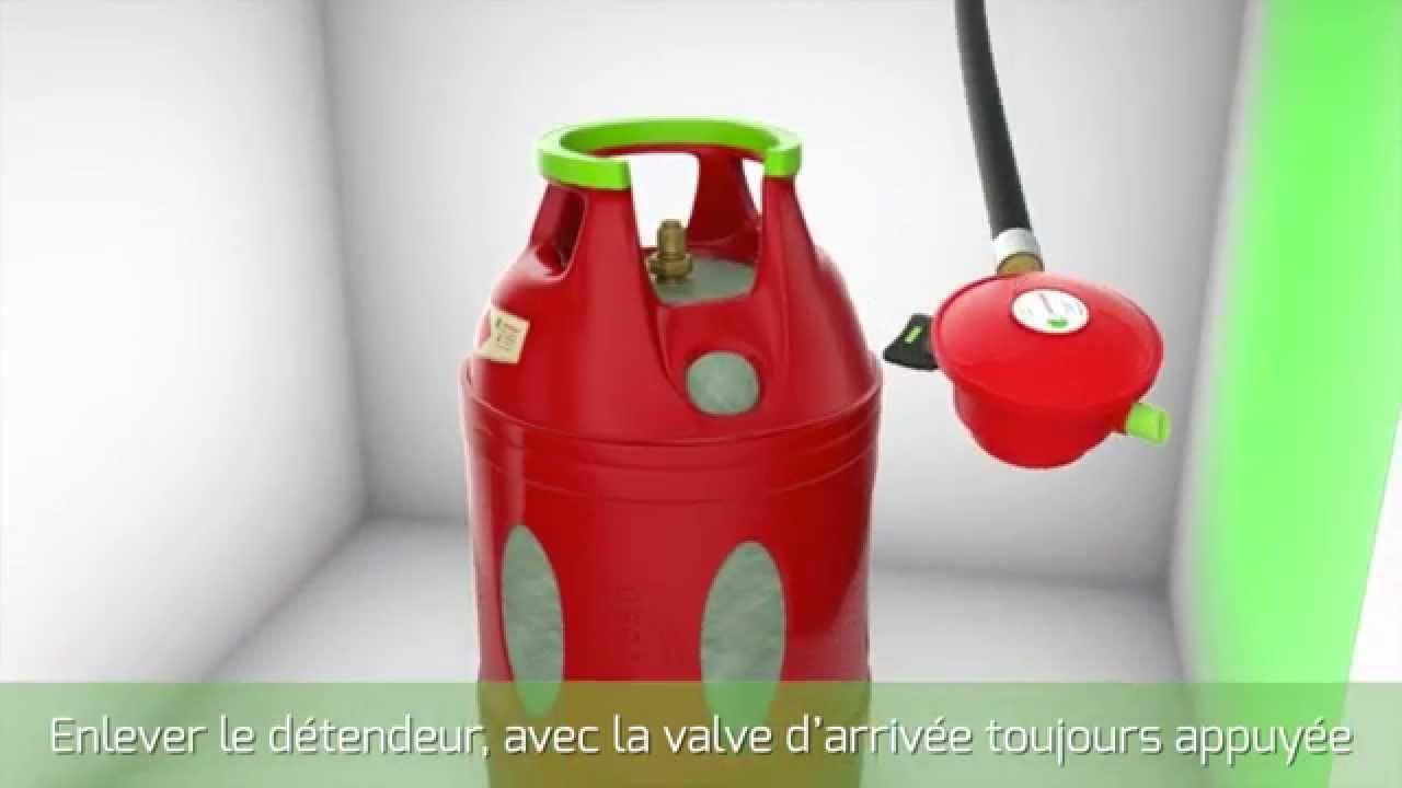 Branchement De La Bouteille Calypso D Antargaz Youtube