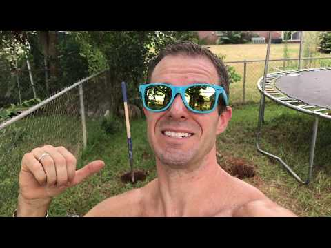 Part 2: How to build and official American Ninja Warrior Salmon Ladder! (Concreting the post)