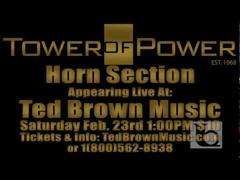 Tower Of Power Horn Section Promo -TedBrownMusicCompany