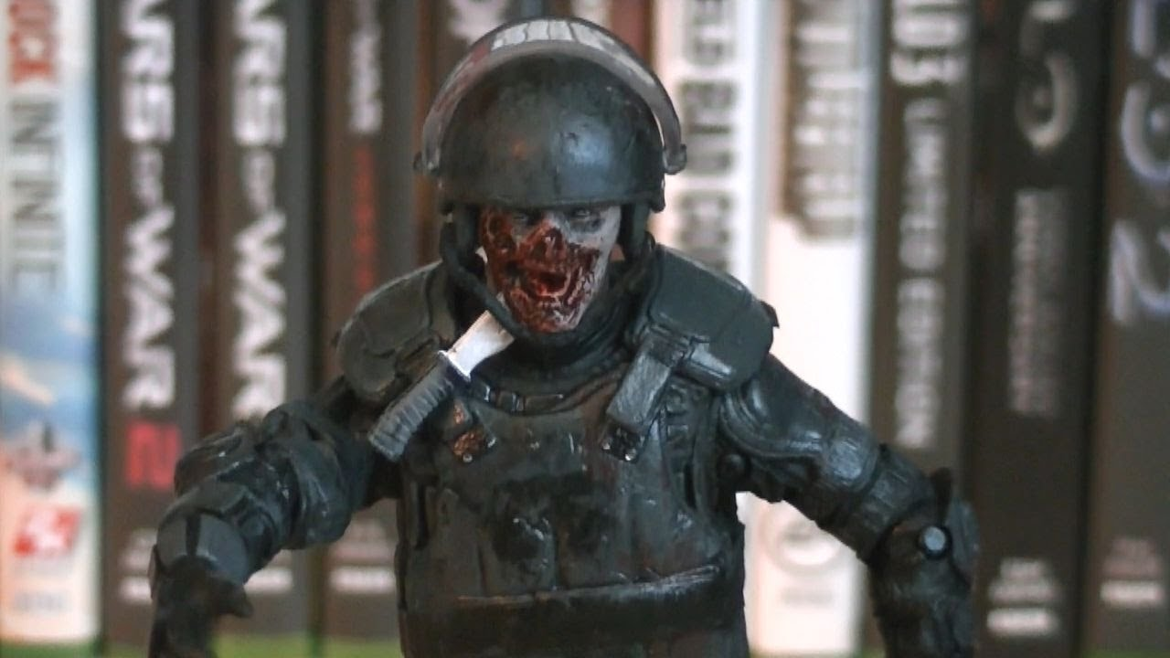 The Walking Dead Riot Gear Zombie Tv Series 4 Review
