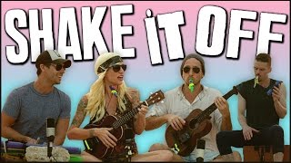 Repeat youtube video Shake It Off - Walk off the Earth