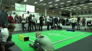 Robotex 2012 Professional football finals