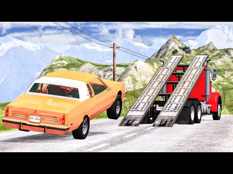 Jump Funny Moments & Fails #1 – BeamNG Drive | CrashBoomPunk