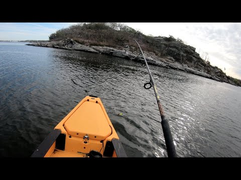 Kayak Fishing Remote Islands And Bridges For Tautog, Rhode Island Style