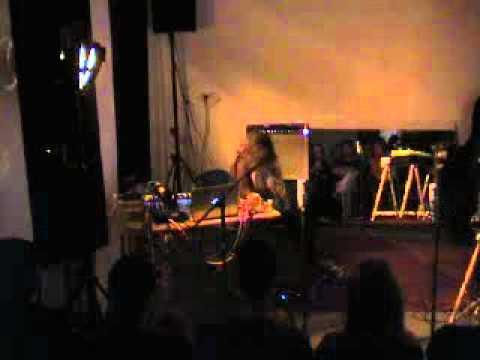 Andrea Parkins solo live at Quiet Cue Berlin