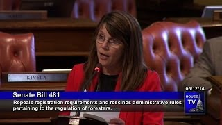 Rep. Theresa Abed Opposes SB 481