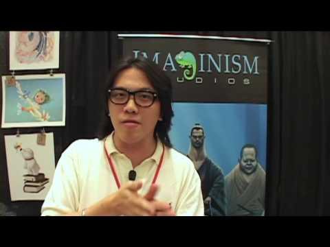 indieanimator.com On-Location: @CTN ANIMATION EXPO - Bobby Chiu- Artist - IMAGINISM STUDIOS