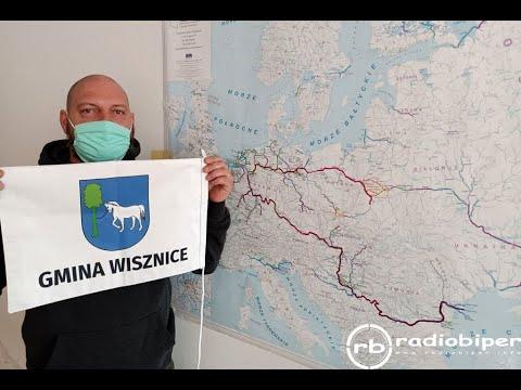 Mieszkaniec gminy Wisznice popłynie tratwą z Kazimierza Dolnego do Morza Czarnego