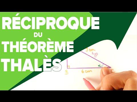 Réciproque du Théorème de Thalès - Mathrix - YouTube