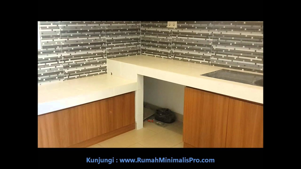 Dapur Rumah Minimalis Sederhana - YouTube