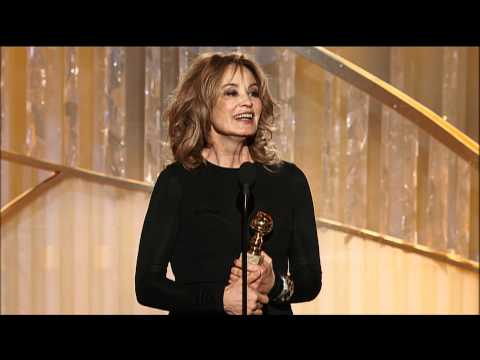 Thumbnail: Jessica Lange Wins Best Supporting Actress TV Series - Golden Globes 2012