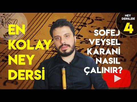 Ney Dersi - 1 En Kolay Ney  Notaları Anlatımı | Neysema Ney Atölyesi. |How to Play Nay Flute Notes?