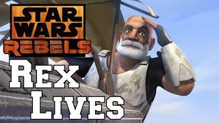 Star Wars Rebels/Clone Wars: Captain Rex didn