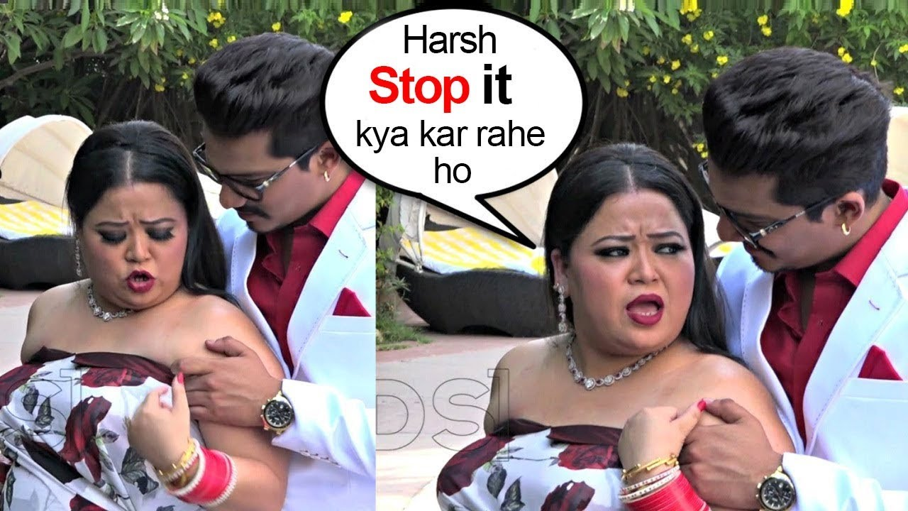 Bharti Singh SHOUTS On Haarsh Limbachiyaa During Their 1st WEDDING Anniversary Celebrations #1
