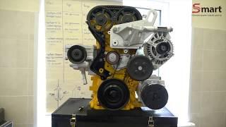 Макет двигателя FORD с демонстрацией работы привода ГРМ