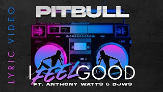 Pitbull Ft. Anthony Watts & DJWS - I Feel Good (Lyric Video)